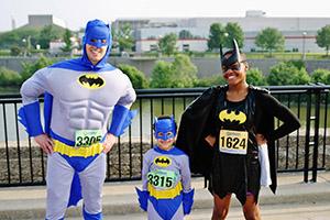 Batmen Super Hero Run